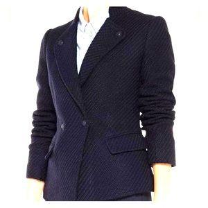 Navy Blue Wool Vince Blazer